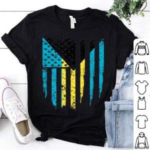 Bahamas America Flag shirt
