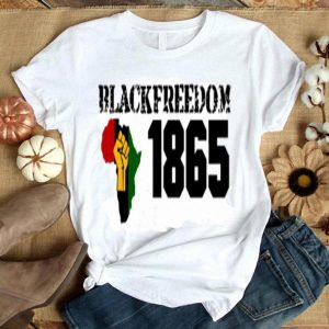 Blackfreedom 1865 strong Libya flag shirt