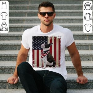 Boston Terrier 4th Of July Independence Day American flag shirt