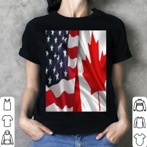 Canada day and US day shirt