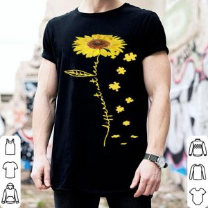 Different no less sun flower shirt