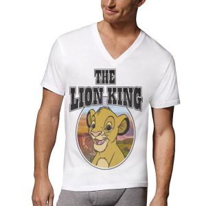 Disney Lion King Simba Circle Logo Portrait shirt