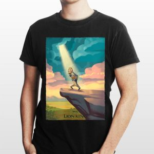 Disney The Lion King Pride Rock Rafiki and Simba shirt