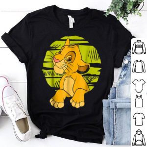 Disney The Lion King Young Simba Paws Green 90s shirt