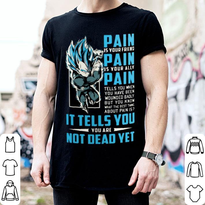 Dragon Ball Pain Vegeta Super Saiyan Blue Shirt Hoodie