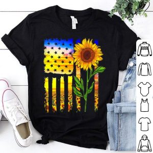 Flag and sunflower shirt