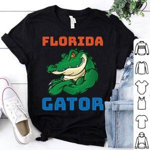 Florida Gator Baseball crocodile shirt