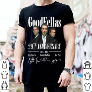 Goodfellas 29th anniversary 2019-1990 signatures shirt