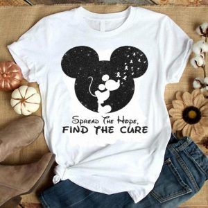 Head Mickey spread the hope find the cure shirt