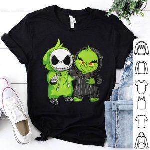 Jack Skellington and the Grinch shirt
