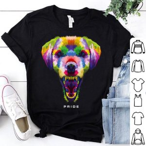 LGBT NYC World Pride 2019 Rainbow Dog shirt