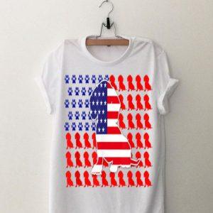 Patriotic American Flag Dachshund 4th Of July shirt