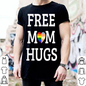 Pride Rainbow Heart Free Mom Hugs Lgbt shirt