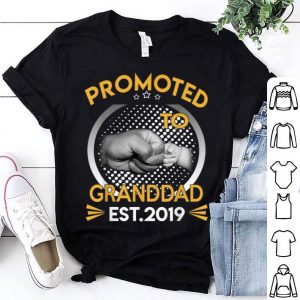 Promoted To Granddad Est 2019 First Time New Father Day shirt