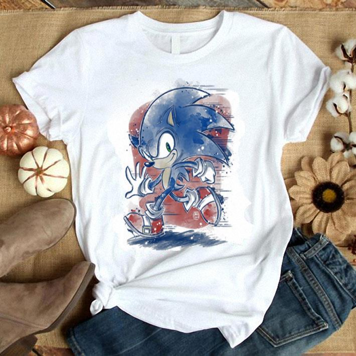 Sonic The Hedgehog 2019 Just Run Shirt Hoodie Sweater Longsleeve T Shirt