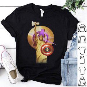 Statue Of Liberty Captain America Marvel Avenger shirt