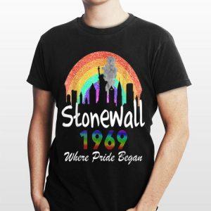 Stonewall Riots 50th Nyc Gay Pride Lbgtq Rainbow shirt