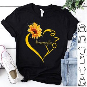 Sunflower love Mommy shirt