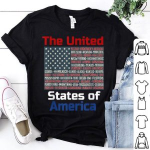 The United States Of America Patriotic 4th Of July shirt