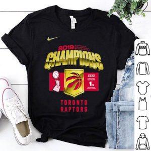 Toronto Raptors 2019 NBA Finals Champions Roster shirt