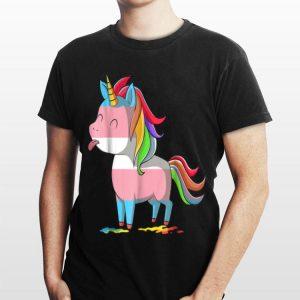 Transgender UnicornLGBTQ Trans Pride shirt