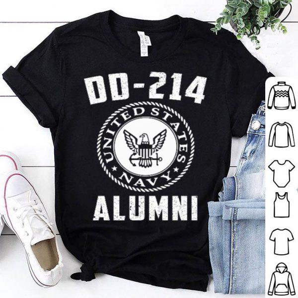 United States Navy DD-214 Alumni shirt