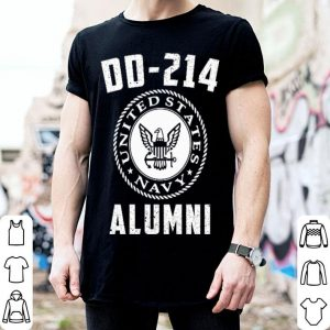 United States Navy DD-214 Alumni shirt