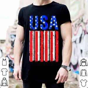 Usa American Flag Us America United States 4th July shirt