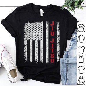 Vintage American Flag Jiu Jitsu shirt