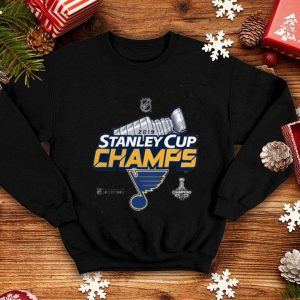 Youth St. Louis Blues Fanatics Branded Gray 2019 Stanley Cup Champions Locker Room shirt