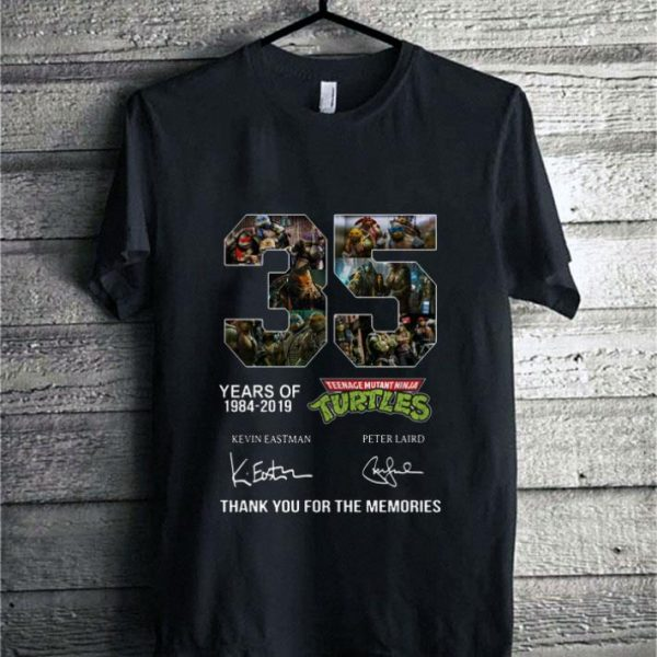 35 years of Teenage Mutant Ninja Turtles thank you for the memories shirt