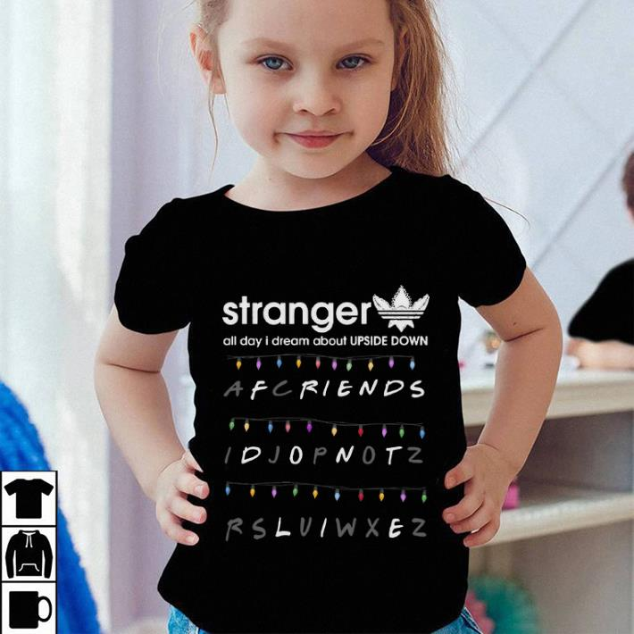 Adidas Stranger Thing Upside Down Friends don t life shirt 4 - Adidas Stranger Thing Upside Down Friends don't life shirt
