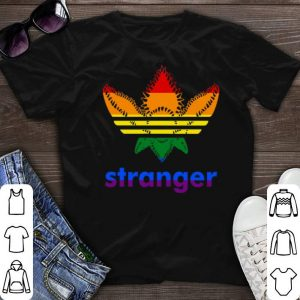 Adidas Stranger Things LGBT shirt