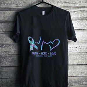Alzheimer Awareness faith hope love shirt hoodie
