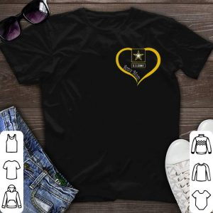 Army mom Love US shirt