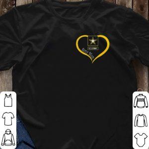 Army mom Love US shirt 2