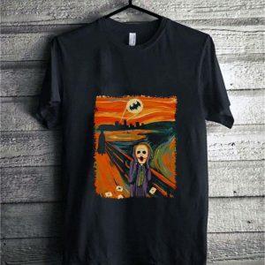 Bat-signal Batman Joker Scream Cross Stitch Pattern shirt sweater