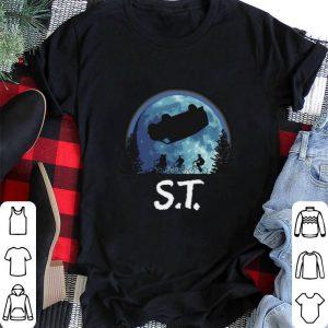 ET moon Stranger Things shirt