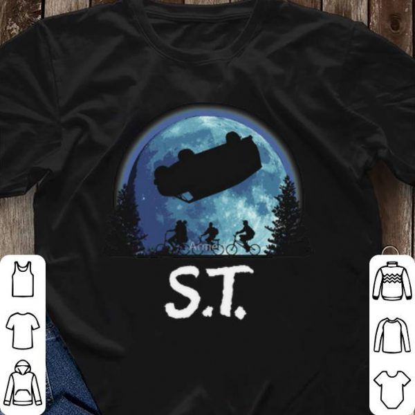 ET moon Stranger Things shirt