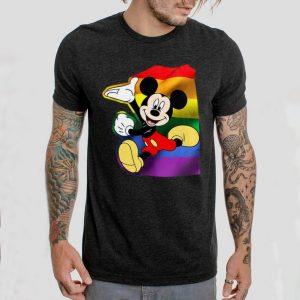 LGBT Mickey Mouse running shirt