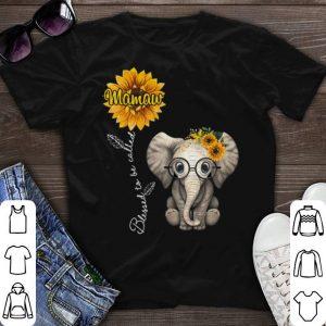 Nice Sunflower elephant shirt