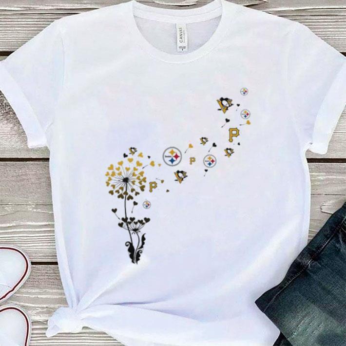quality design d82f4 bb748 Pittsburgh Steeler Pirates Penguins dandelion shirt