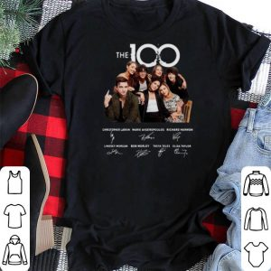 Signature The 100 Characters shirt