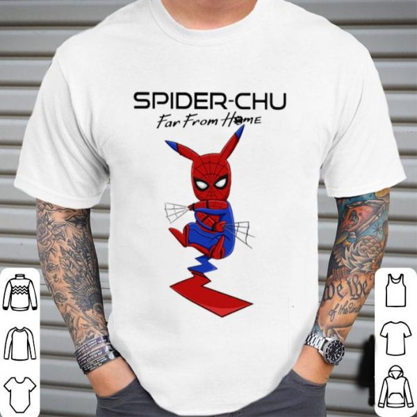 Spider-Chu Far From Home Spider Man shirt