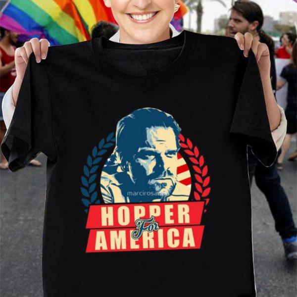 Stranger Things Jim Hopper for America shirt