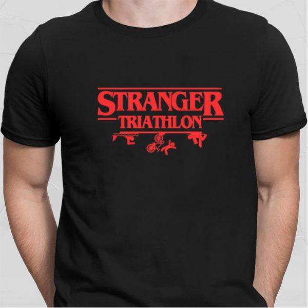 Stranger Triathlon Stranger Things shirt sweater