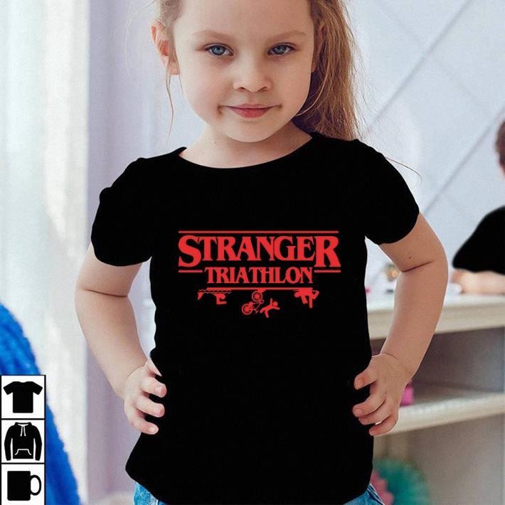 Stranger Triathlon Stranger Things shirt sweater 4 - Stranger Triathlon Stranger Things shirt sweater