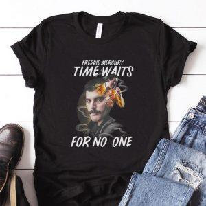 Time waits for no one Freddie Mercury shirt