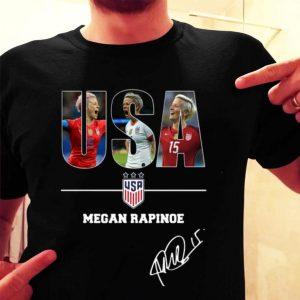 USA Megan Rapinoe signature shirt