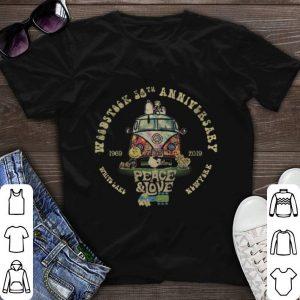 Woodstock 50th anniversary 1969-2019 peace & love Hippie Snoopy shirt